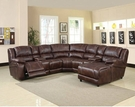 Zanthe Sectional Sofa (Motion) in Brown P-Mfb - Acme Furniture 50300B