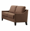 Zapata Loveseat in Brown Linen - Acme Furniture 52496