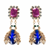 Adie's Jewel Bug Dangle Earrings