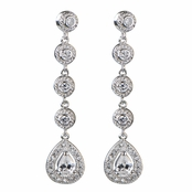 Ann's Vintage CZ Dangle Earring