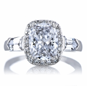 Blake's Cushion Cut CZ Engagement Ring