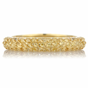 Carnaby's CZ Stackable Goldtone Eternity Ring