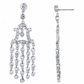 Dancing Queen CZ Chandelier Earrings