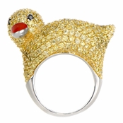 Dannity's Duck Cocktail Ring