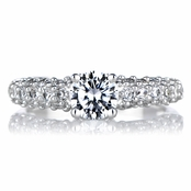 Darcey's Pave CZ Promise Ring