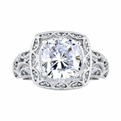 Dienie's Antique Style Wedding Ring - 3 Carats