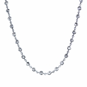 Emalee's CZ B by the Yard Bezel Necklace