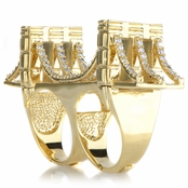Empire's Brooklyn Bridge Ring - Gold