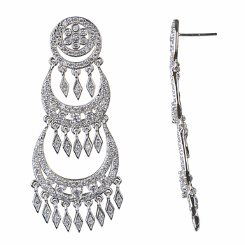 Esmerelda's 3 Tier Chandelier Fancy Earrings