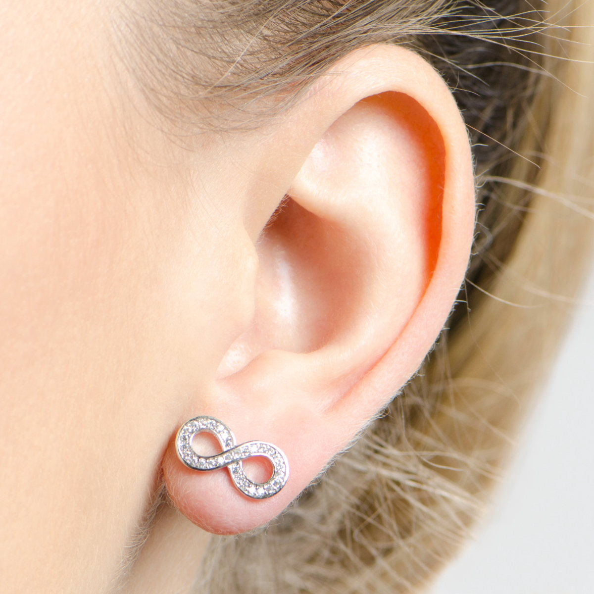 infinity stud products hoops jewellery embrace mini earrings