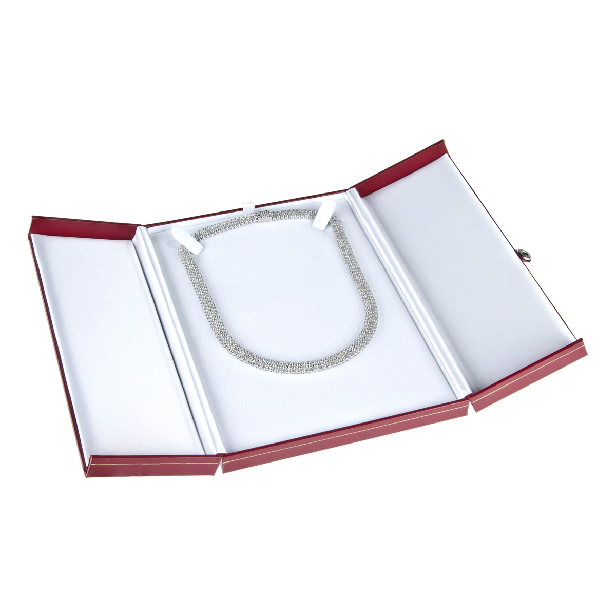 Necklace Jewelry Gift Box: Carnival Collection Red