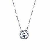 Felicity's Solitaire CZ Necklace
