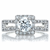Gemma's .75 CT Round Cut CZ Engagement Ring
