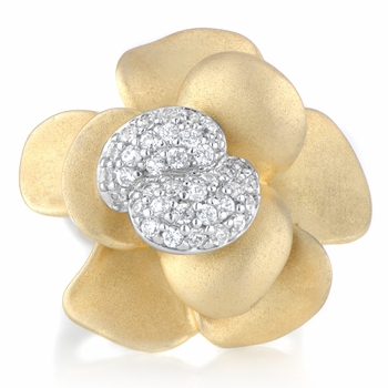 Goldie's Flower Cocktail Ring