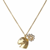 Hailey's Zodiac Horoscope Charm Necklace - Aries, The Ram