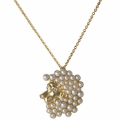 Hailey's Zodiac Horoscope Charm Necklace - Leo, The Lion