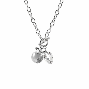 Hilary's CZ Diamond Charm Necklace