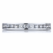Holly's CZ Eternity Band - Channel Set