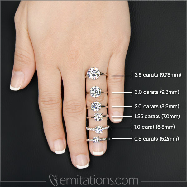 Jackies 2 Carat Round Cut CZ Silver Wedding Ring Set