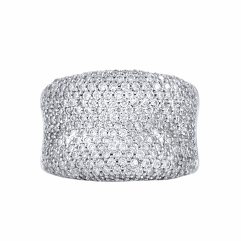 Kaitlyn's Pave CZ Ring