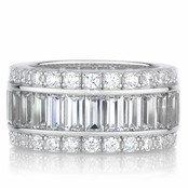 Kalani Eternity Band CZ Ring