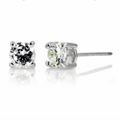 Kumiko's .4 tcw CZ Stud Earrings