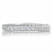 Kylie's CZ Pave Set Eternity Ring