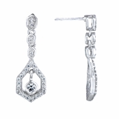 Lavana's Petite Art Deco Dangle Earring