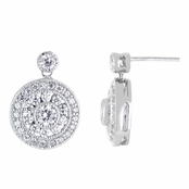 Lika's CZ Vintage Dangle Earrings