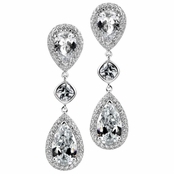 Liv's Fancy Pear Drop Earrings