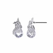 Maelle's CZ Briolette Drop Bridal Earrings