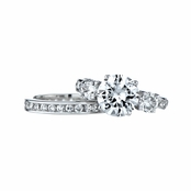 Maria's CZ Wedding Ring Set