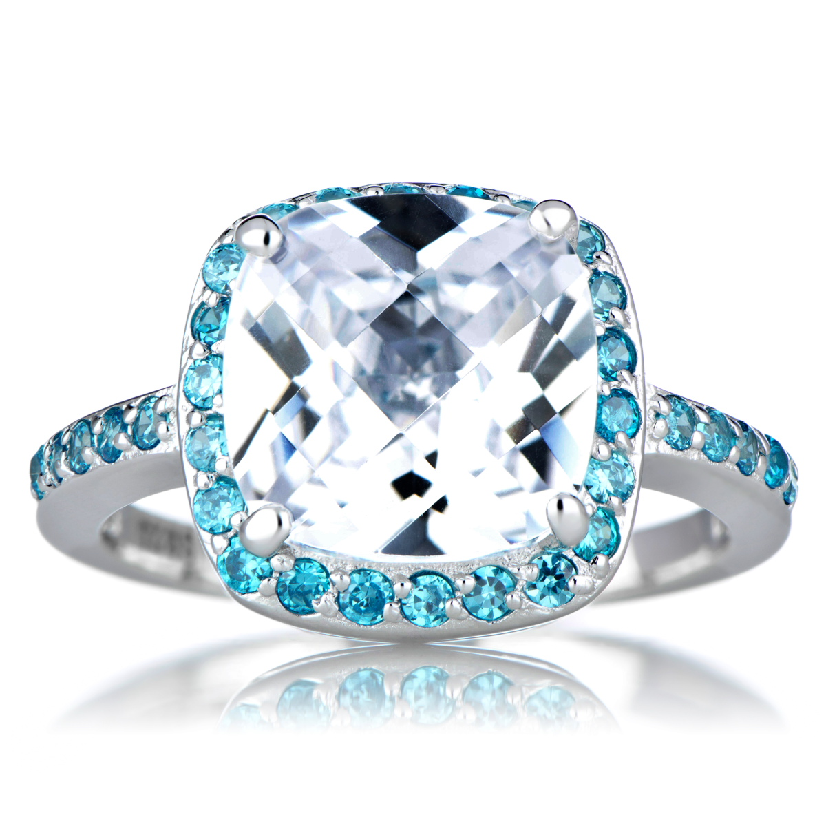 Cushion Cut Engagement Ring Roll Off Image To Close Zoom Window