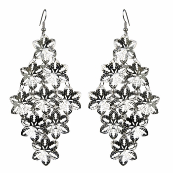 Val's Flower Cluster Dangle Earrings