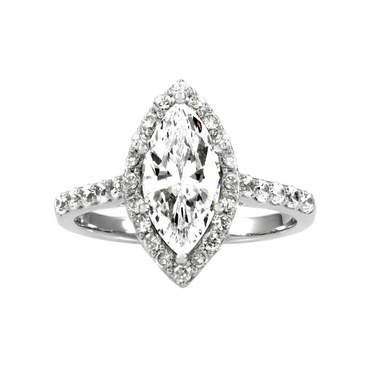 Marquise cubic zirconia engagement rings - Marquise pas cher ...