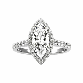 Padgett's Engagement Ring - Marquise Cut CZ