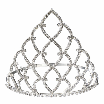 Toddler Pageant Tiara: Princess Rhinestone Crown - 5 Inches