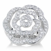 Pandora's CZ Rose Ring