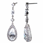 Prisca's Antique CZ Earrings