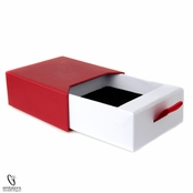 Fancy Red and Black Necklace Gift Box
