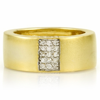 Rogelio's Two Tone CZ Eternity Ring