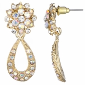 Rosalyn's 70's Style Goldtone Dangle Earrings