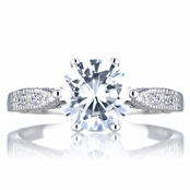 Ruth's Promise Ring - Round Cut CZ