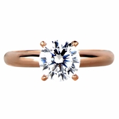Serafina's Engagement Ring - Rose Goldtone