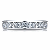Sharla's Channel Set CZ Eternity Ring
