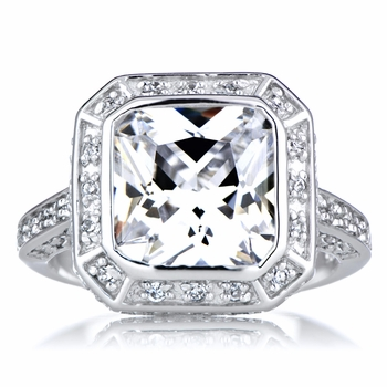 Vedete's 5 CT CZ Engagement Ring