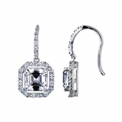 Vintage Jewelry Earrings: Dara's Asscher Drops