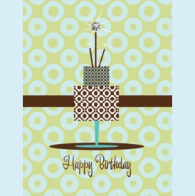Ace of Cakes Birthday Card - click to enlarge