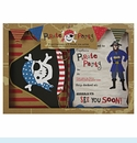 Ahoy There Pirate Invite/Thank You Set