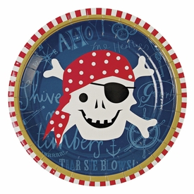 Ahoy There Pirate Small Plate - click to enlarge